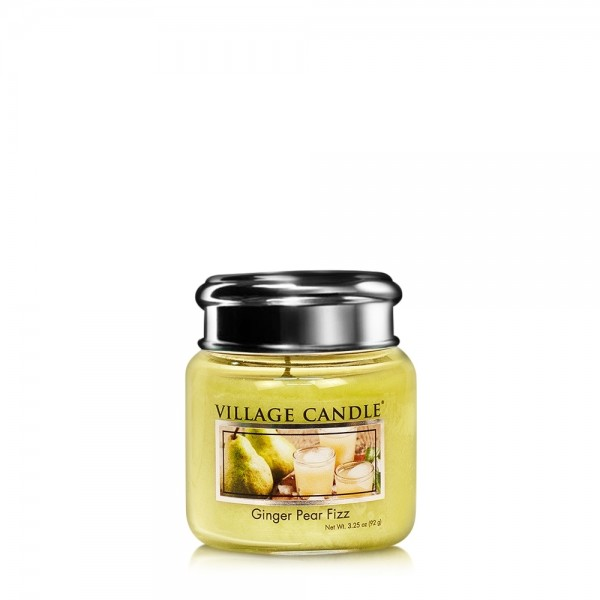 Ginger Pear Fizz 3.75 oz Glas Village Candle