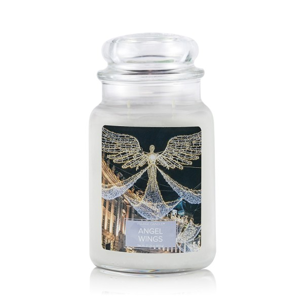 Angel Wings 26 oz Glas (2-Docht) Village Candle