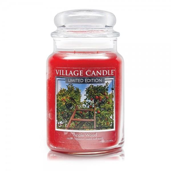 Apple Wood 26 oz LE Glas (2-Docht) Village Candle