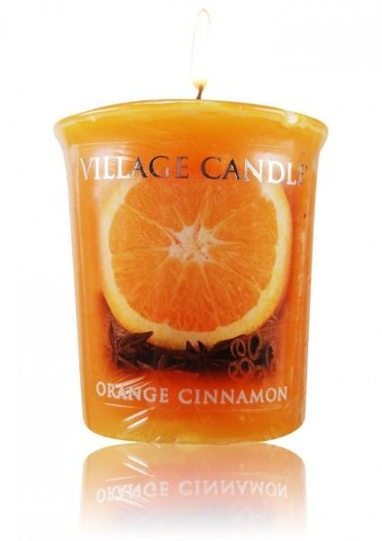 Orange Cinnamon Votivkerze