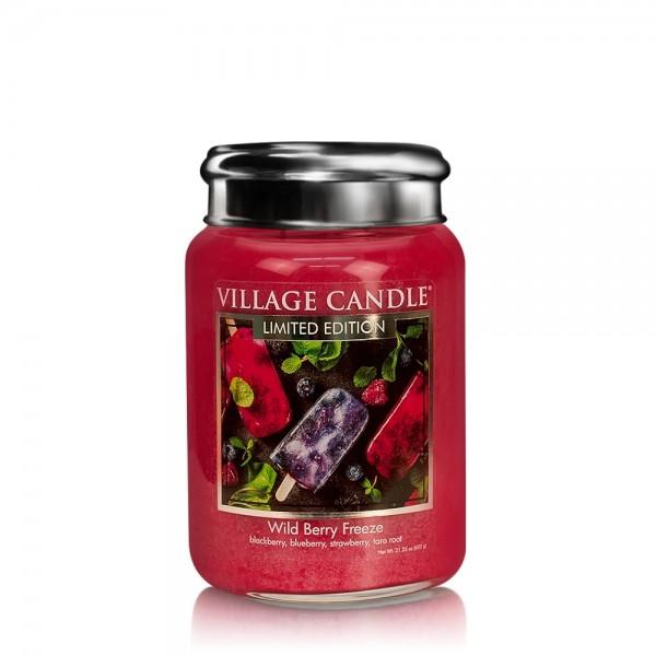 Wild Berry Freeze 26 oz LE Glas (2-Docht) Village