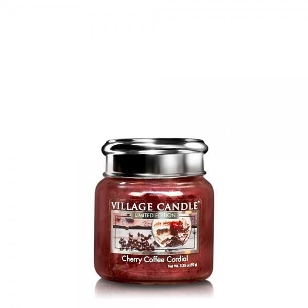 Cherry Coffee Cordial 3.75 oz LE Glas Village Cand
