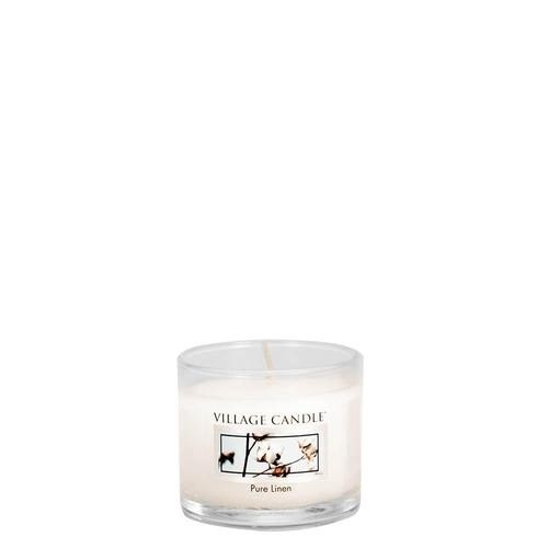 Pure Linen Mini Glas Village Candle
