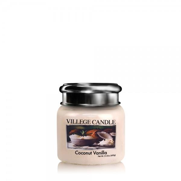 Coconut Vanilla 3.75 oz LE Glas Village Candle