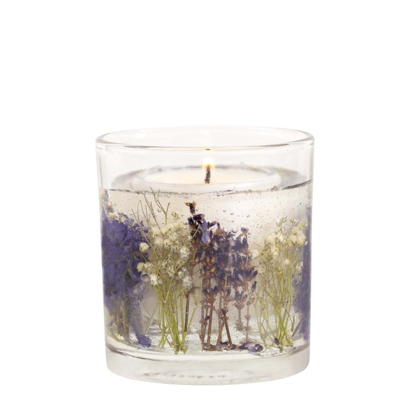 Botanical Gelkerze Lilac & Lavender mit Sojawachs