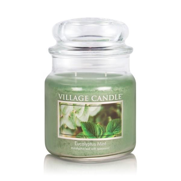 Eucalyptus Mint 16 oz Glas (2-Docht) Village Candl