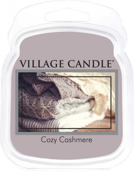 Cozy Cashmere Melts Village Candle