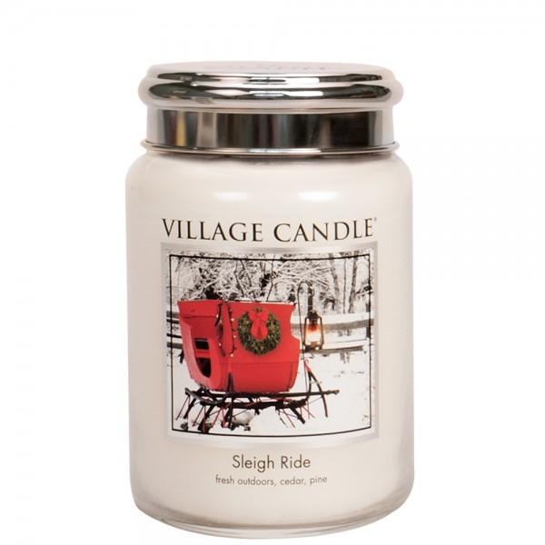 Sleigh Ride 26oz 2-Docht Village Candle