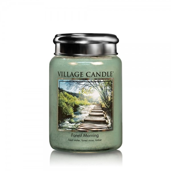 Forest Morning 26oz 2-Docht Village Candle