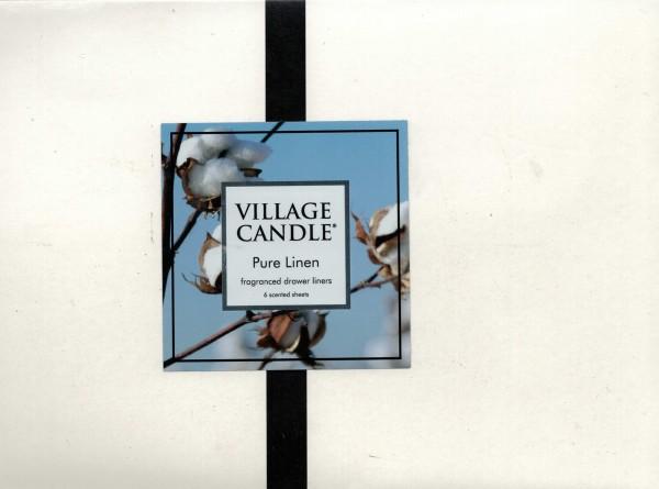Pure Linen Duftblätter Village Candle 6 Stück