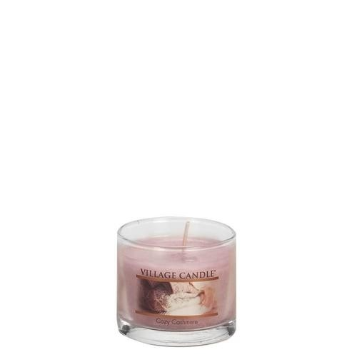 Cozy Cashmere Mini Glas Village Candle