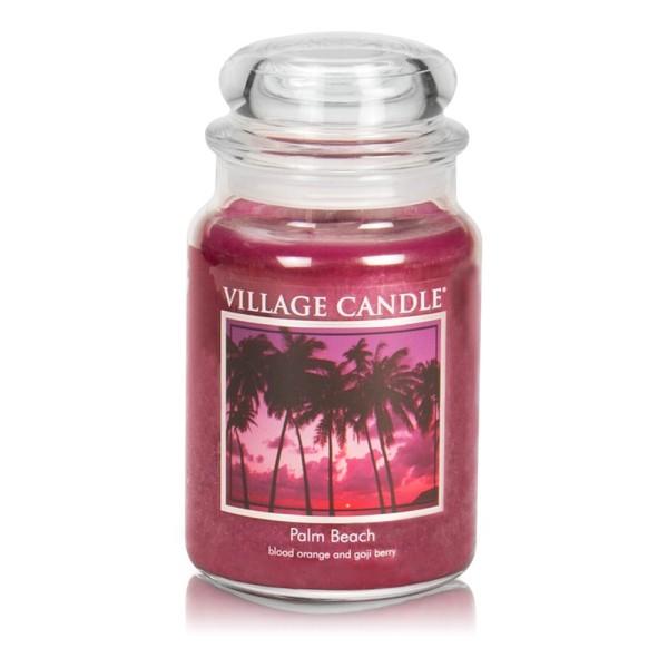 Palm Beach 26 oz Glas (2-Docht) Village Candle