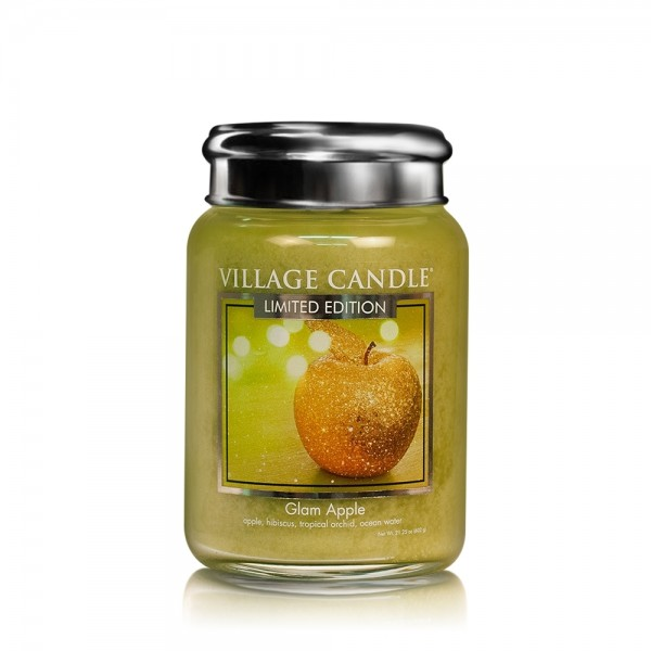 Glam Apple 26 oz LE Glas (2-Docht) Village Candle