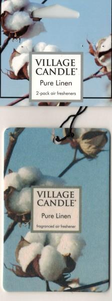 Pure Linen Autoduft Village Candle 2 Stück