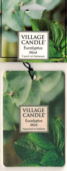 Eucalyptus Mint Autoduft Village Candle 2 Stück