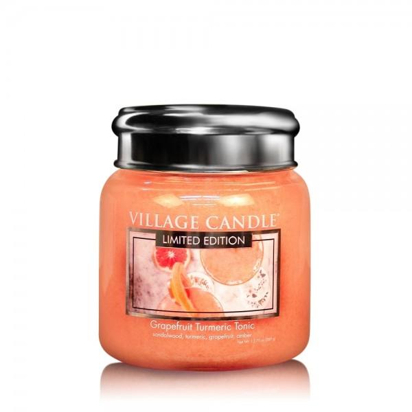 Grapefruit Turmeric 16 oz LE Glas (2-Docht) Villag