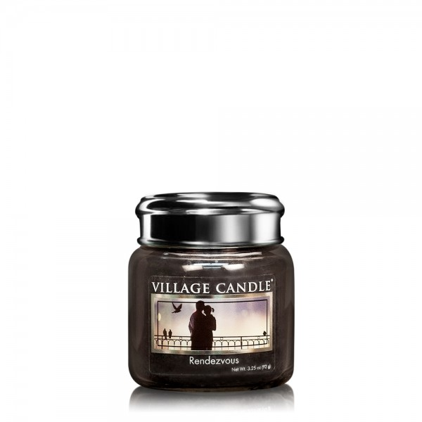 Rendez-Vous 3.75 oz Glas Village Candle
