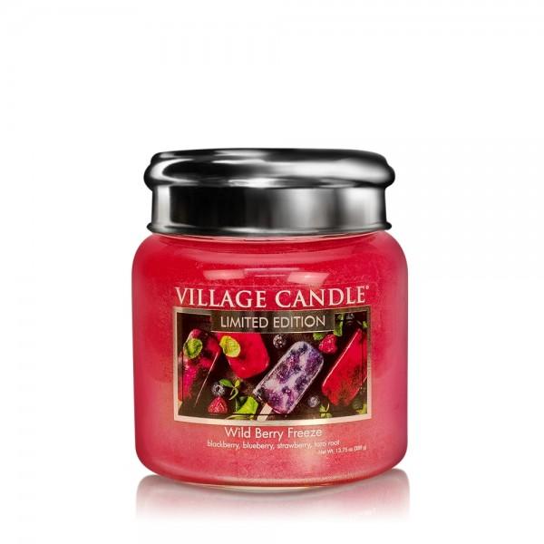 Wild Berry Freeze 16 oz LE Glas (2-Docht) Village