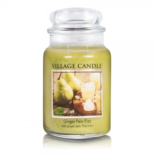 Ginger Pear Fizz 26oz 2-Docht Village Candle