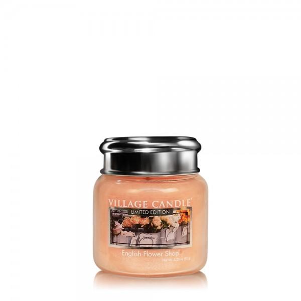 English Flower Shop 3.75 oz LE Glas Village Candle