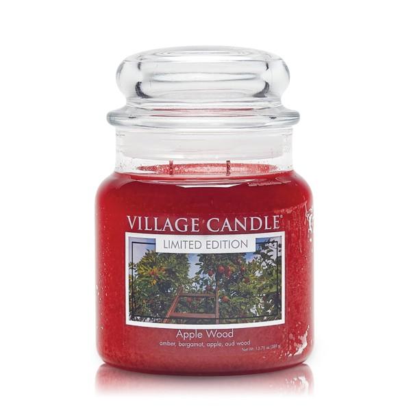 Apple Wood 16 oz LE 2-Docht Village Candle