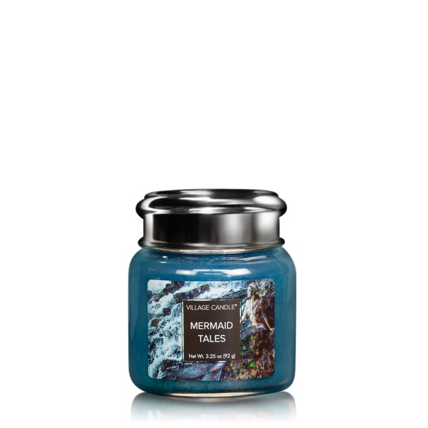 Mermaid Tales 3.75 oz Glas Village Candle
