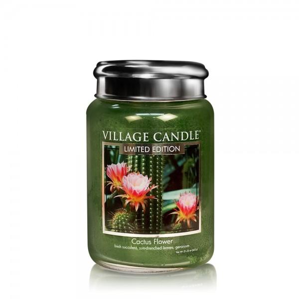 Cactus Flower 26 oz LE Glas (2-Docht) Village Cand