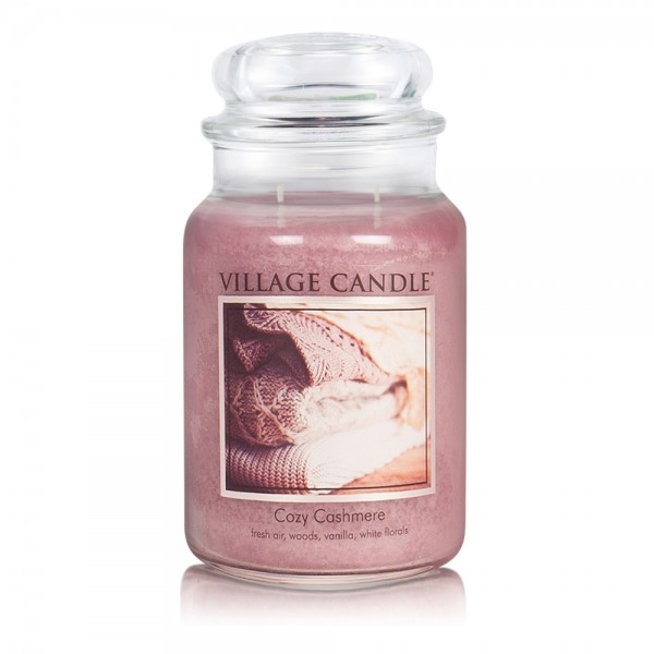 Cozy Cashmere 26oz 2-Docht Village Candle