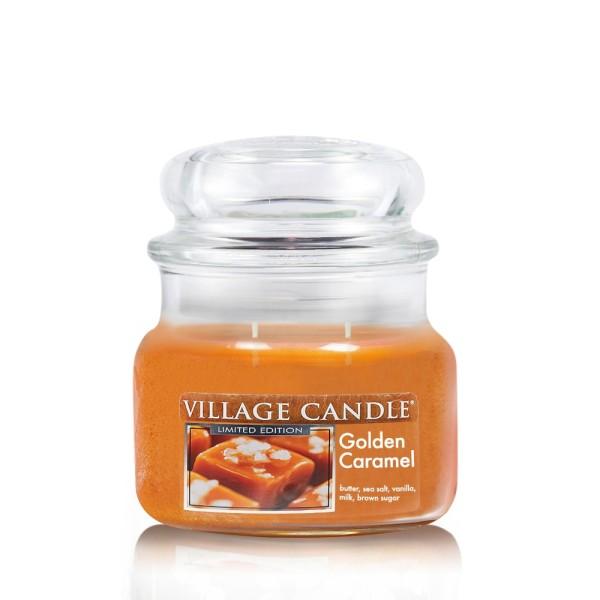 Golden Caramel 11 oz LE Glas (2-Docht) Village Can