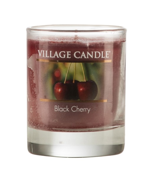 Black Cherry 1.75oz Votiv Glas Village Candle