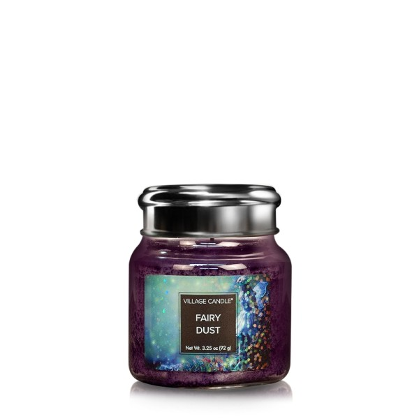 Fairy Dust 3.75 oz Glas Village Candle