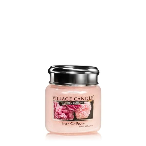 Fresh Cut Peony 3.75 oz LE Glas Village Candle