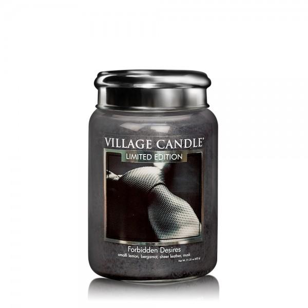 Forbidden Desires 26oz LE 2-Docht Village Candle