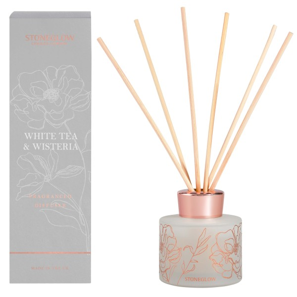 Day Flower White Tea & Wisteria Reed Diffuser 120m