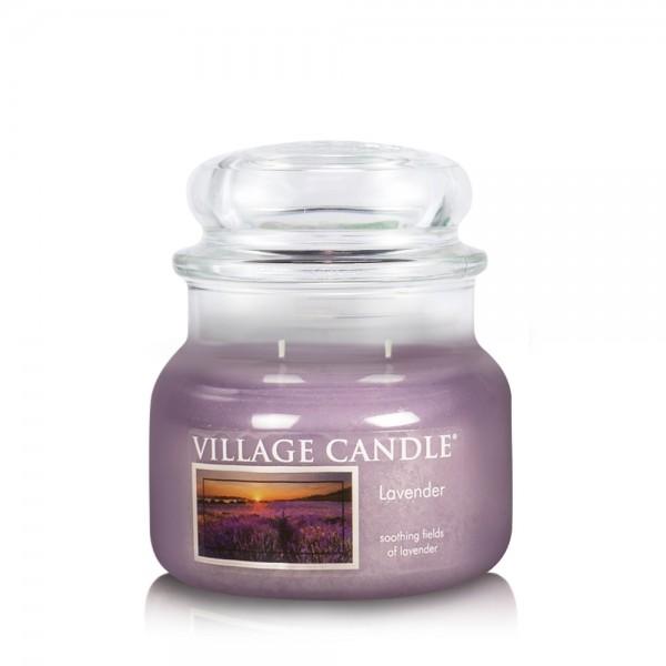 Lavender 11 oz Glas (2-Docht) Village Candle