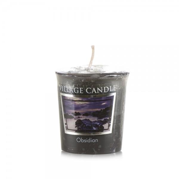 Obsidian Votivkerzen Village Candle