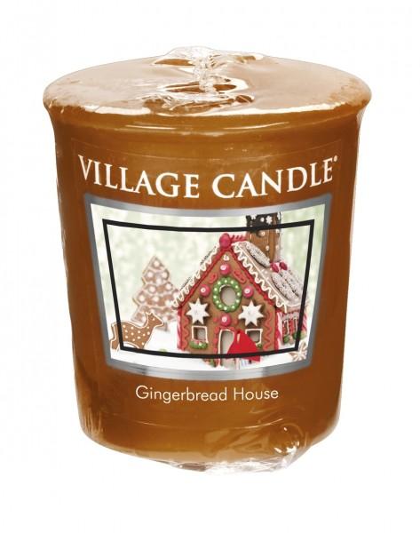 Gingerbread House Votivkerzen Village Candle