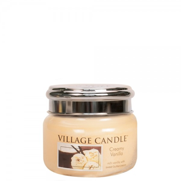 Creamy Vanilla 11 oz Glas (2-Docht)