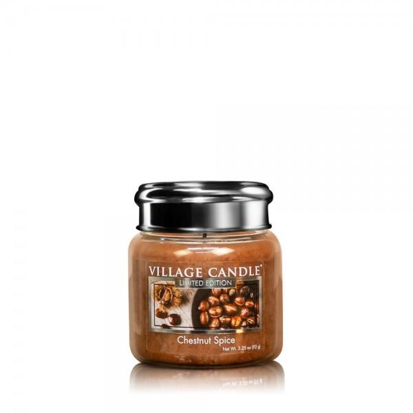 Chestnut Spice 3.75 oz LE Glas Village Candle
