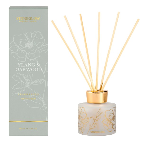 Day Flower Ylang & Oakwood Reed Diffuser 120ml